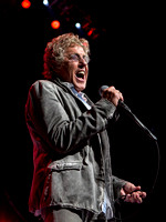 Roger Daltrey of The Who in concert