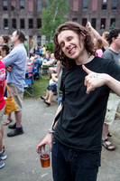 Sam French of Foxygen at Solid Sound Festival