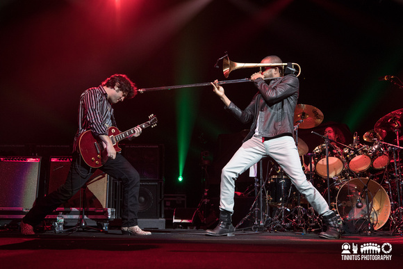 Trombone Shorty and Orleans Avenue in concert
