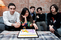 The Pains of Being Pure at Heart shoot