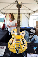 Autographed guitar for charity raffle